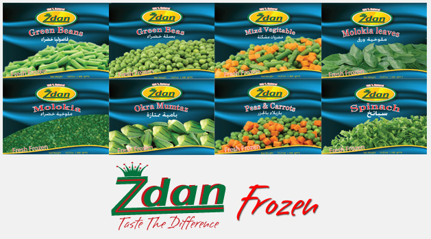 Our Frozen Product Line